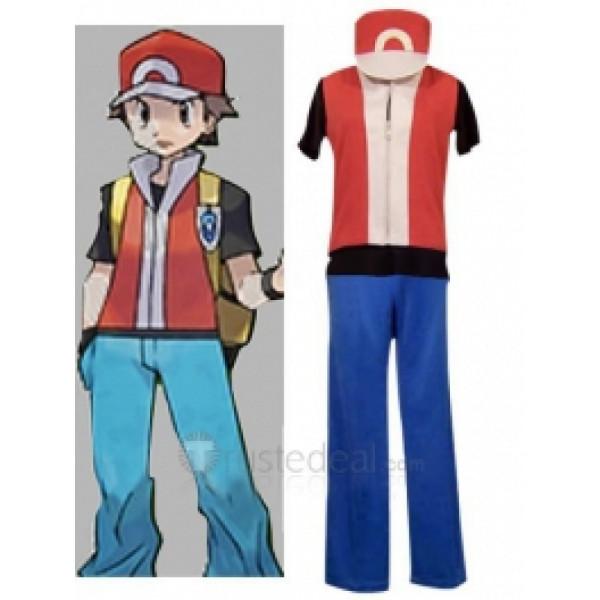 Pokemon Red Cosplay Costume