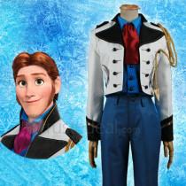 Frozen Disney Prince Hans Cosplay Costume