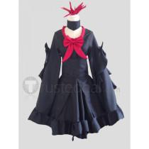 Pokemon Gijinka Darkrai Black Cosplay Costume