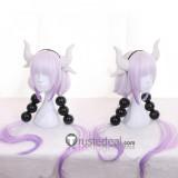 Miss Kobayashis Dragon Maid Kanna Kamui Long Gradients Purple Pink Cosplay Wig