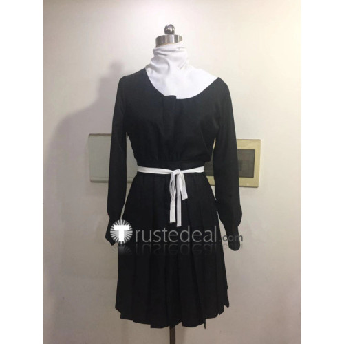 Zombie Land Saga Zonbi Rando Saga Tae Yamada Black Dress Cosplay Costume