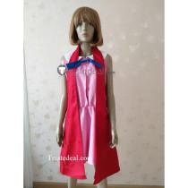 Pokemon XY Serena Pink Red Cosplay Costume