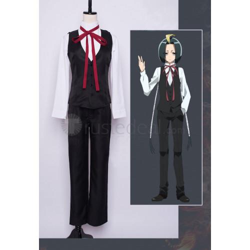 Sousei no Onmyouji Seigen Amawaka Black and White Cosplay Costumes
