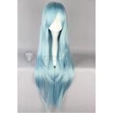 Sword Art Online Asuna Blue Cosplay Wig
