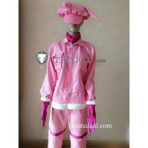 Sword Art Online GGO Alternative Kohiruimaki Karen LLENN Pink Cosplay Costume
