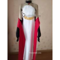 Sewayaki Kitsune no Senko-san Shiro White Red Cosplay Costume