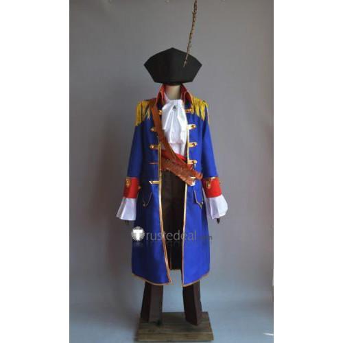 Black Butler Kuroshitsuji Ciel Phantomhive Pirate Uniform Cosplay Costume