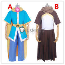 Undertale Dream!Sans Ink!Sans Blue Brown Cosplay Costumes