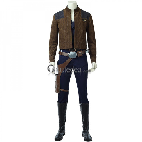 Solo: A Star Wars Story Han Solo Jacket Cosplay Costume