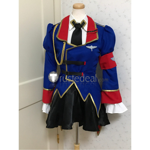 Code Geass Akito the Exiled Leila Malcal Cosplay Costume