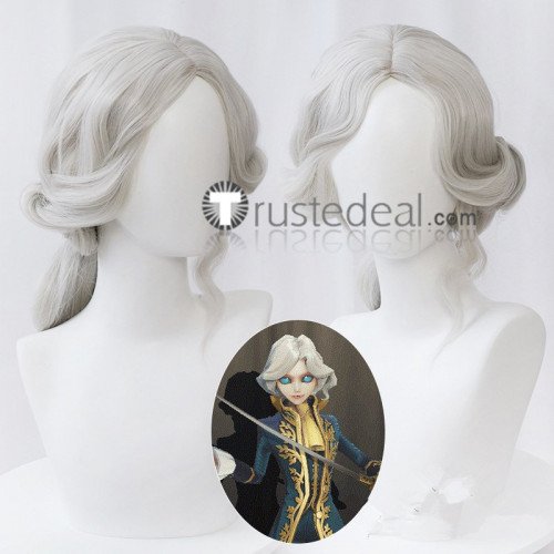 Identity V Joseph Bloody Queen Mary Wu Chang Silver Brown Blonde Cosplay Wigs