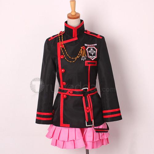 D.Gray-man Hallow Lenalee Lee 3rd Uniform Cosplay Costume