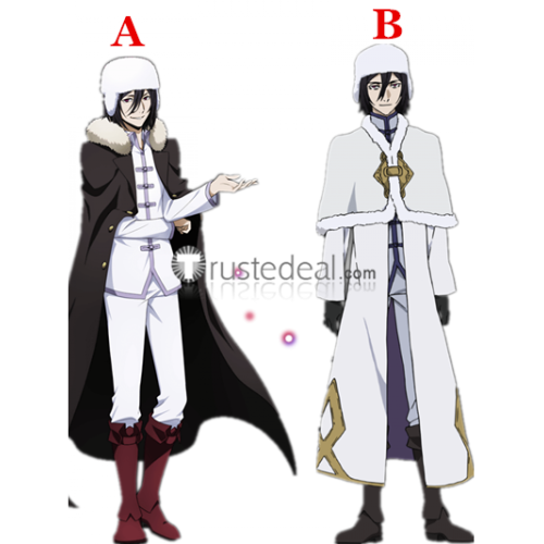 Bungou Stray Dogs Dead Apple Fyodor Dostoyevsky Black Red Cosplay Boots Shoes