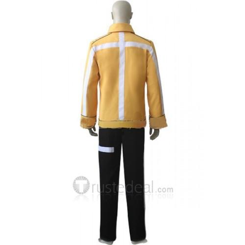 FullMetal Alchemist Scar Yellow Jacket Cosplay Costume