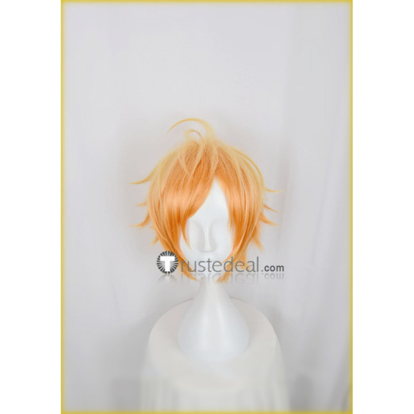 Act! Addict! Actors! A3! Summer Troupe Sumeragi Tenma Bright Orange Cosplay Wig
