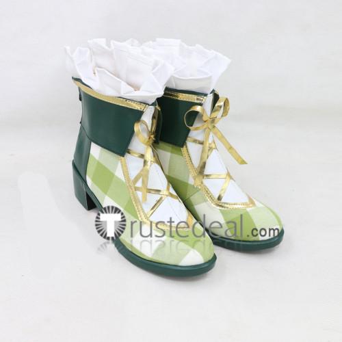 Love Live Flower Bouquet Umi Nico Nozomi Kotori Honoka Hanayo Eli Rin Koizumi Cosplay Shoes Boots