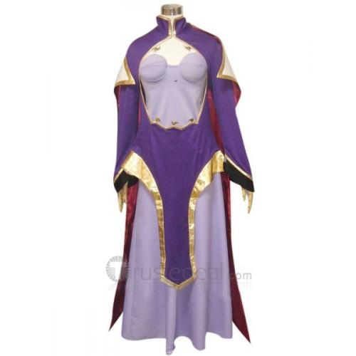 Code Geass Lelouch of the Rebellion Guinevere Su Britannia Cosplay Costume
