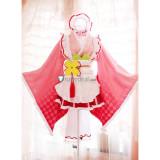 Sword Art Online SAO/ALO Asuna Suguha Yuuki Silica Maid Cosplay Costume