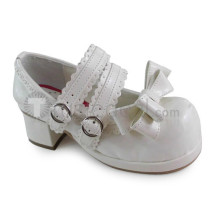 Double Straps Bow Lolita Shoes
