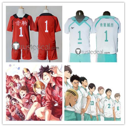Haikyuu Aobajohsai High Seijou Nekoma High School Volleyball Club Uniform Toru Oikawa Hajime Iwaizumi Akira Kunimi Cosplay Costumes