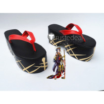 Touken Ranbu Jiroutachi Cosplay Shoes Geta