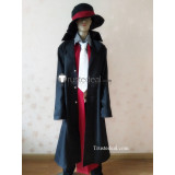 Assassination Classroom Karma Akabane Nagisa Shiota Black White Overcoat Cosplay Costume