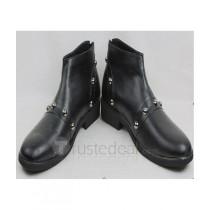 YuGiOh! Yugi Mutou Black Cosplay Shoes Boots