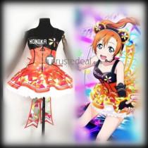 Love Live SR Kousaka Honoka Cyber Awakening Cosplay Costume