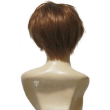 Code Geass Suzaku Kururugi Brown Cosplay Wig