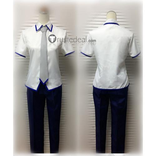 Fruits Basket Yuki Kyo Sohma School Boys Summer Uniform Cosplay Costumes