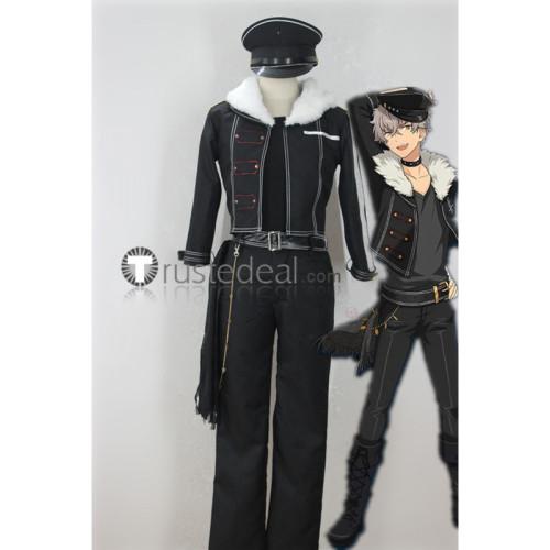 Ensemble Stars Undead Oogami Koga Rei Sakuma Kaoru Hakaze Adonis Otogari Black Jacket Cosplay Costumes