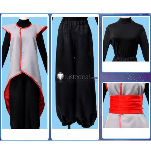 Dragon Ball Super Fused Zamasu Goku Grey Black Cosplay Costume