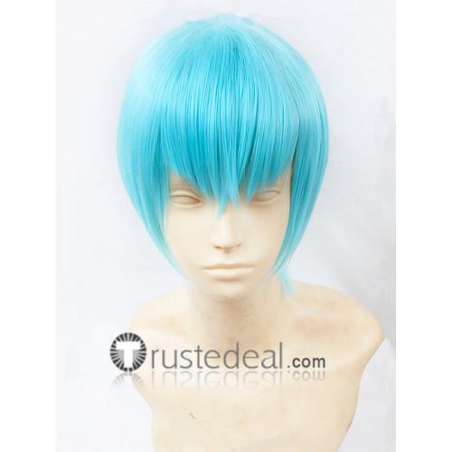 KILL la KILL Houka Inumuta Light Blue Cosplay Wig