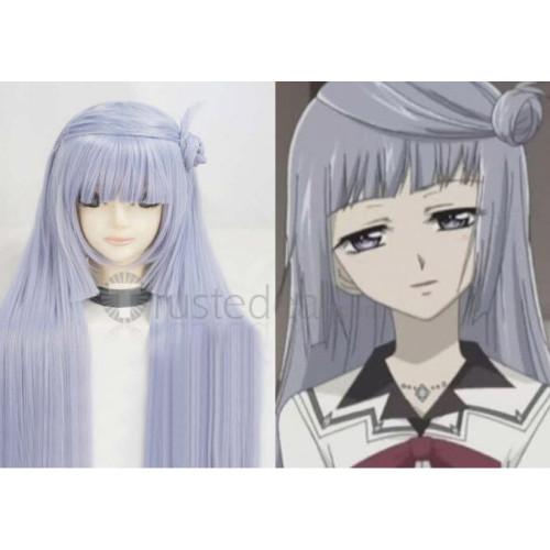 Vampire Knight Kurenai Maria Long Purple Cosplay Wig