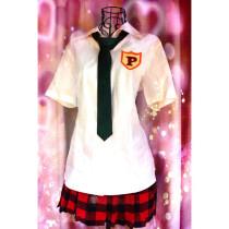 Panty and Stocking with Garterbelt Panty School Uniform Cosplay Costume Summer