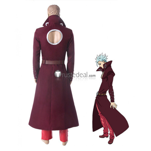 The Seven Deadly Sins 2 Revival of The Commandments Fox's Sin of Greed Ban Cosplay Costume