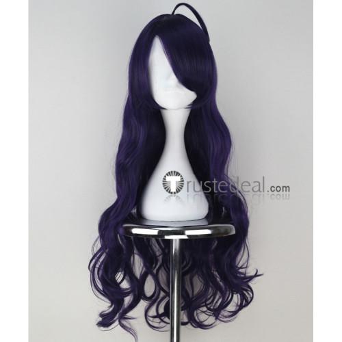 Seraph of the End Owari no Serafu Asuramaru Dark Purple Cosplay Wig