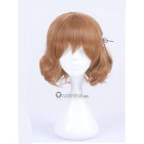 Blend S Mafuyu Hoshikawa Short Curly Brown Cosplay Wig2