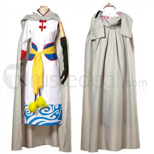 Gintama Movie Forever Yorozuya Kagura Cosplay Costume