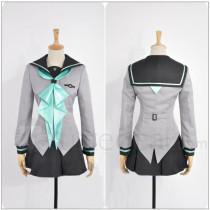 Seraph of the End Owari no Serafu Shinoa Hiragi School Uniform Cosplay Costume 1