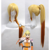 Konosuba God's Blessing on this Wonderful World Dustiness Ford Lalatina Darkness Blonde Orange Cosplay Wig
