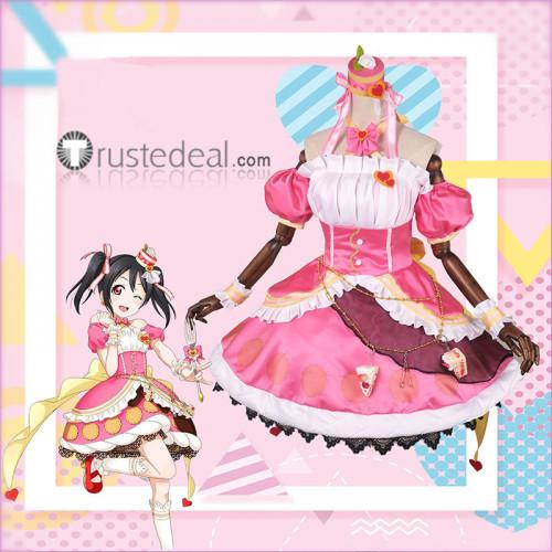 Love Live Nico Yazawa Lolita Cake Dress Cosplay Costume