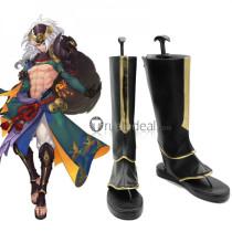 Onmyoji Shuten Doji Black Cosplay Shoes Boots