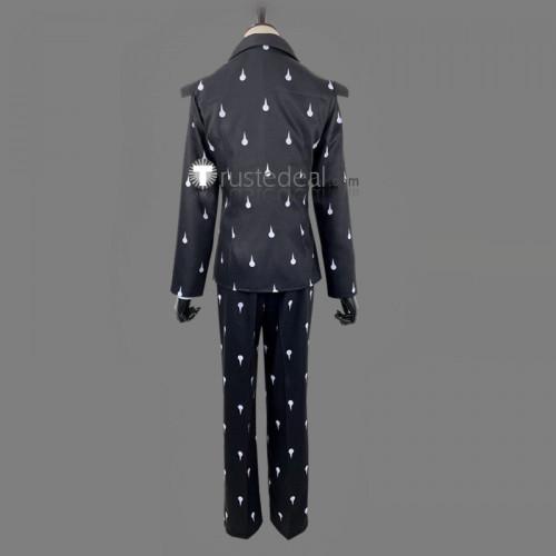 JoJo's Bizarre Adventure Vento Aureo Golden Wind Bruno Buccellati Funeral Suit Cosplay Costume