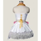 Panty and  Stocking with Garterbelt Panty Anarchy White Angel Cosplay Costume