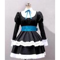 Panty & Stocking with Garterbelt Satin Gothic Dress