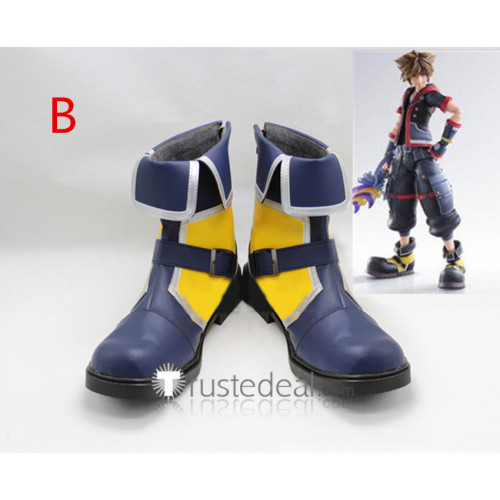Kingdom Hearts3 Sora Cosplay Boots Shoes