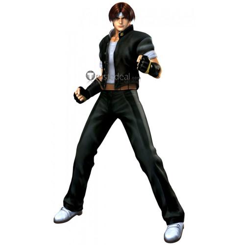 The King of Fighters Kyo Kusanagi Black Cosplay Costume 2