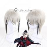 Touken Ranbu Hyuuga Masamune Gray Black Cosplay Wig