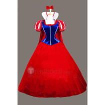 Snow White and the Seven Dwarfs Disney Princess Snow White Red Cosplay Costume